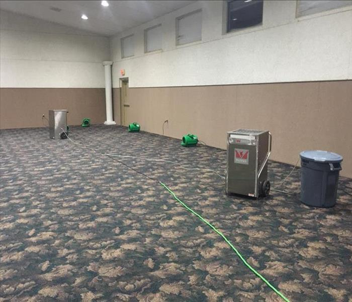 Water Loss in a Michigan City Area Church After